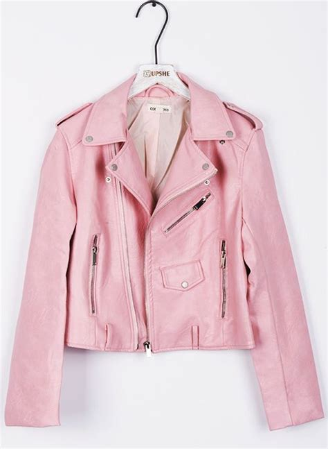 Jaket Pink 25 best ideas about pink leather jackets on