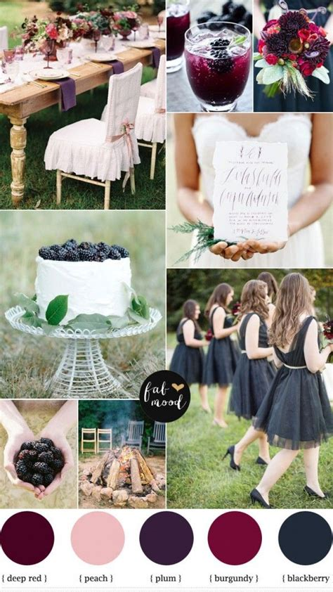 wedding colors in august 17 best ideas about august wedding colors on