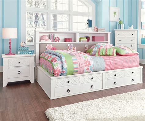 full size bed for girl full size storage bed girl s bedroom american hwy