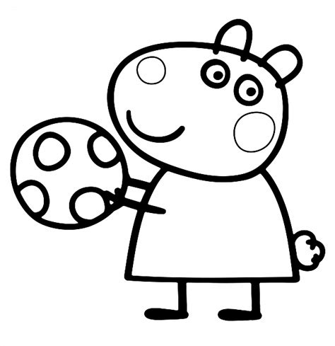 peppa pig cartoon coloring pages peppa pig 105 cartoons printable coloring pages