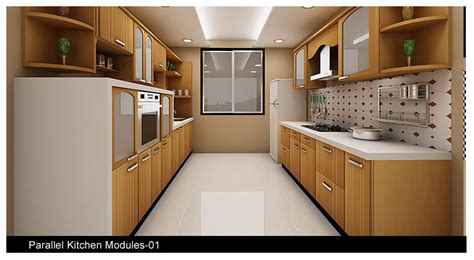 Modular Kitchen Shelves Designs Parallel Kitchen Design India Search Kitchen Kitchen Design