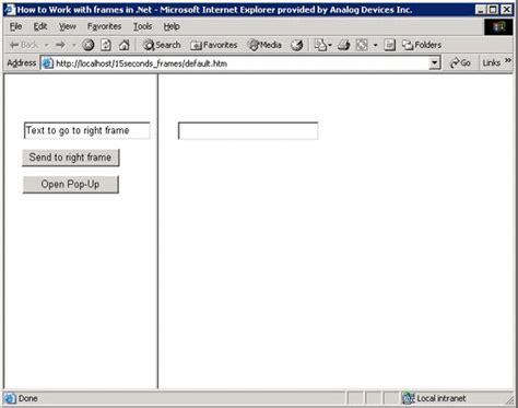 frame design in asp net aspnet frames frame design reviews