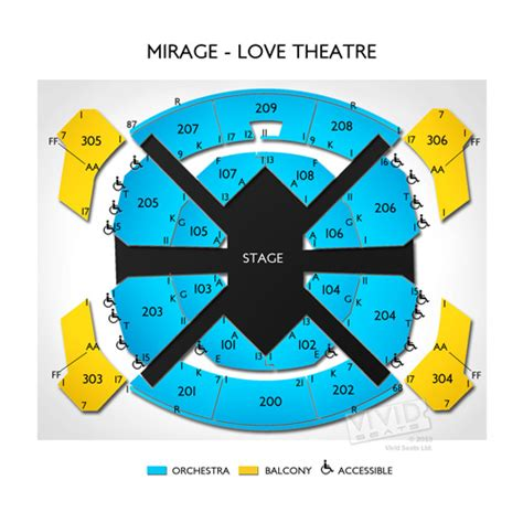 beatles theater seating chart best vegas insider hotel deals beatles show tickets