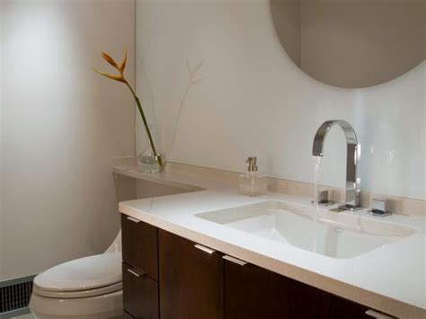 best material for bathroom countertops solid surface bathroom countertop options hgtv