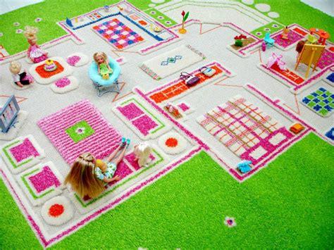 interactive play rug ivi 3d play rug playhouse green medium 100x150