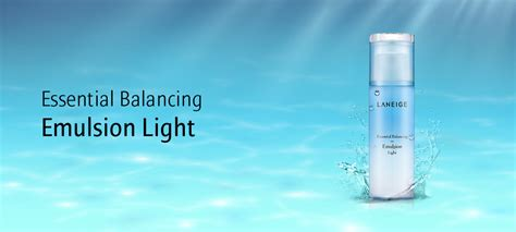 Laneige Balancing Emulsion Light skincare essential balancing emulsion light laneige sg