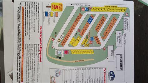 seattle koa map castle rock washington area attractions and activities