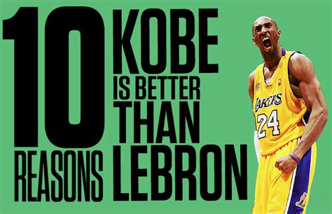 10 Reasons Shoes Are Better Than by Vs Lebron 10 Reasons Why Bryant Is Better