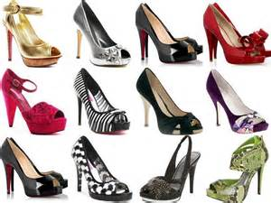 photo of various colors of shoes clothes shoes