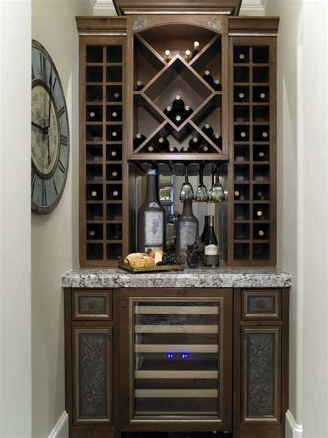 built in wine bar cabinets contemporary wine cabinet with custom hanging glass