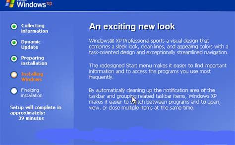 kumpulan tutorial xp instal windows xp kumpulan tutorial