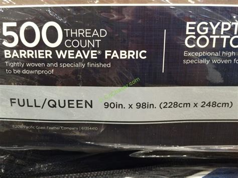 pacific coast feather pyrenees down comforter costco 1988992 pacific coast feather pyrenees down