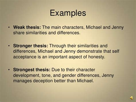 comparison and contrast thesis compare and contrast analysis writing