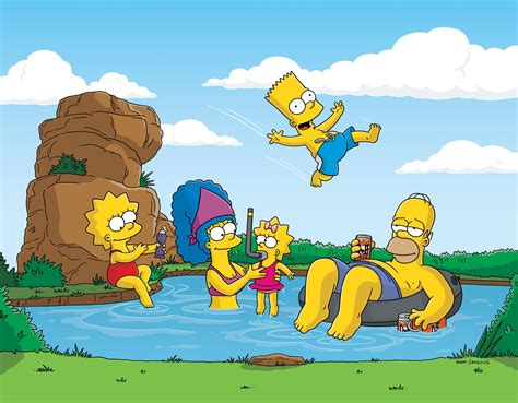 the simpsons background the simpsons hd wallpaper and background image