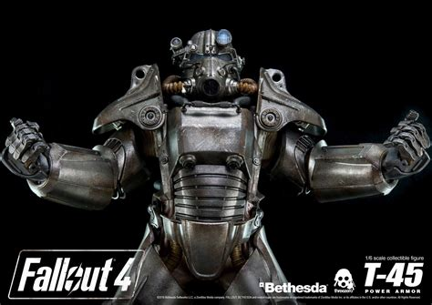 fallout 4 armor 400 fallout 4 power armor figure stands 14 inches gamespot