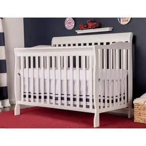 walmart cribs white on me ashton 5 in 1 fixed side convertible crib