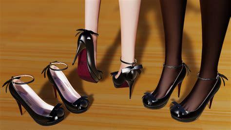 Heels Dl 27 dl mmd high heels by iron0129 on deviantart