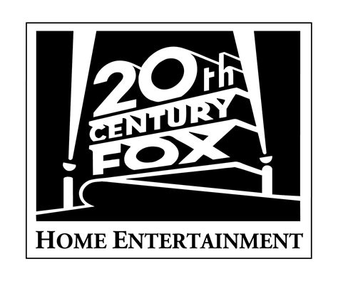 20th century fox home entertainment print logo twentieth