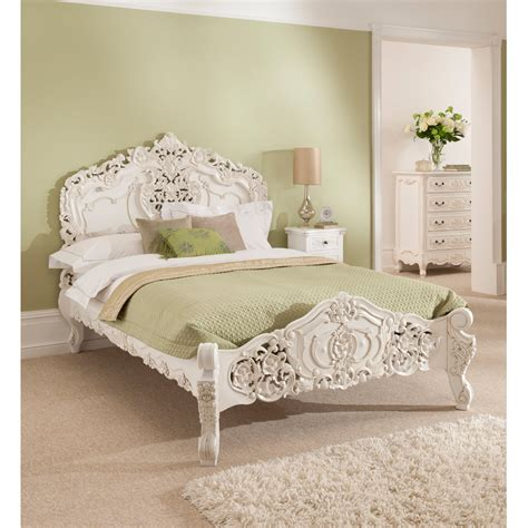 rococo bedroom antique french style rococo bed online homesdirect365