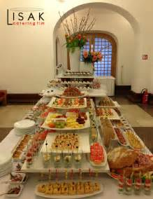 Catering Buffet Table Setup Catering Team Lisak Fingerfood Jammie