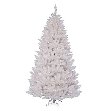 4 foot white christmas tree vickerman 4 foot 6 inch sparkle white spruce pre lit tree with white lights buybuy baby