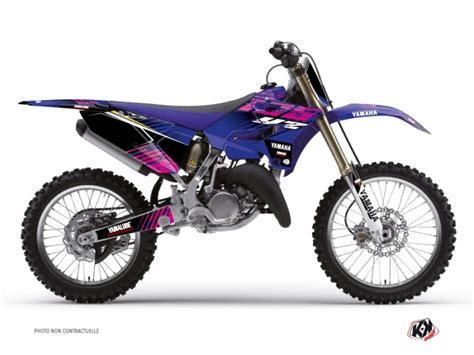 Pinkes Motorrad 125 by Kit D 233 Co Moto Cross Flow Yamaha 125 Yz Kutvek Kit