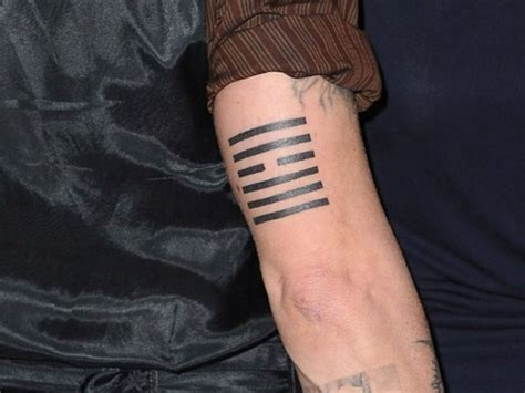 johnny depp tattoo meaning johnny depp tattoos and their meanings