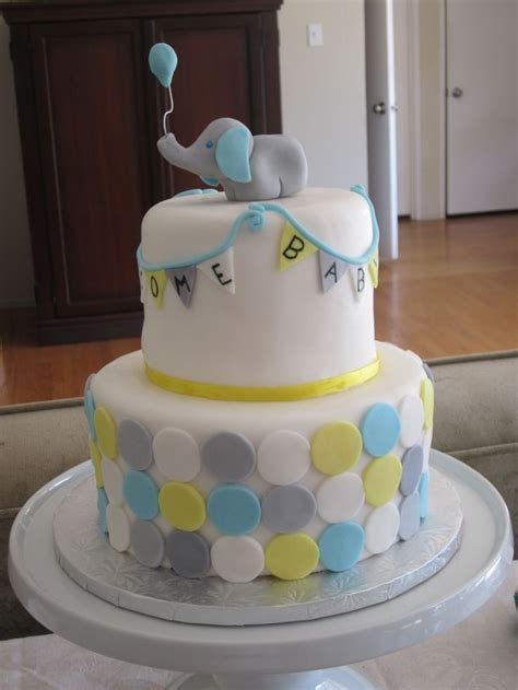 elephant baby shower cake baby shower kid room ideas