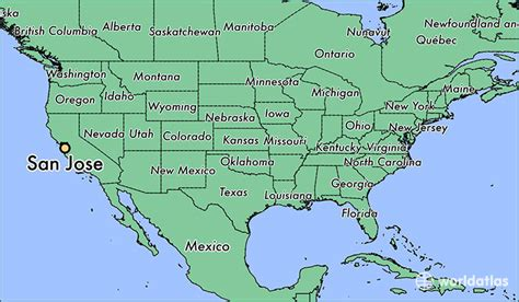 san jose map of california where is san jose ca san jose california map