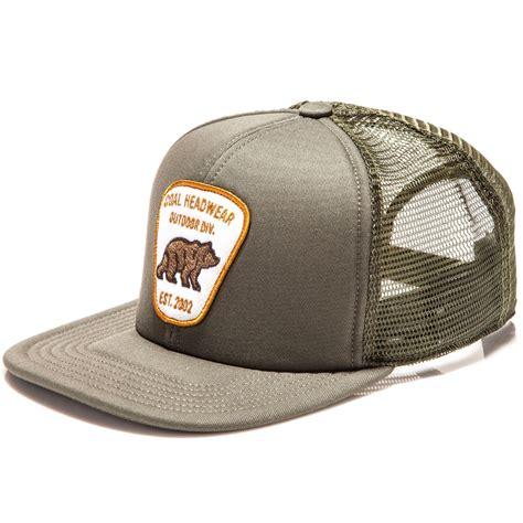 bureau hat coal the bureau hat olive