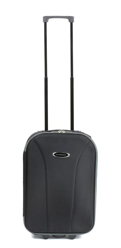 constellation 18 quot black and grey cabin approved suitcase