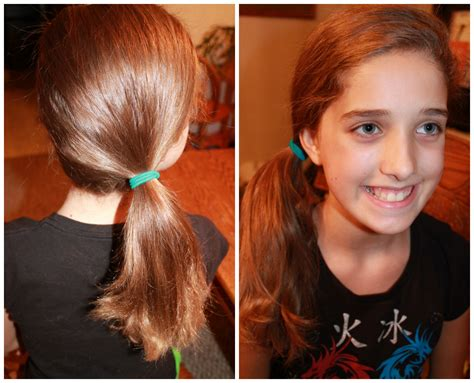 Back School Cute Easy Hairstyles Side Pony   Medium Hair Styles Ideas   25895132437