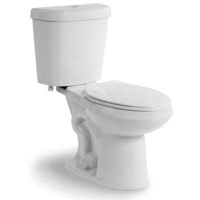 glacier bay 2 dual flush toilet in white