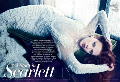 Johansson In Vanity Fair by Johansson Vanity Fair Magazine December 2011
