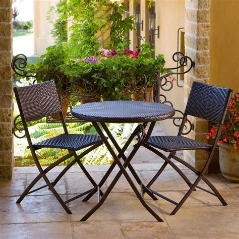 bistro set outdoor furniture small patio sets newsonair org