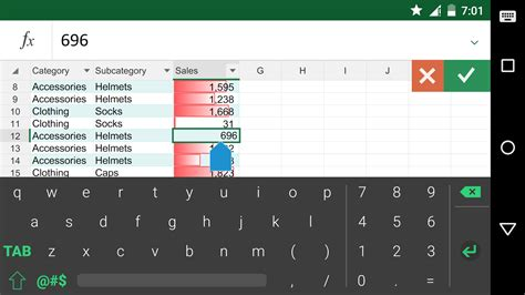 item id 82307 2046 keyboard for excel android apps on google play