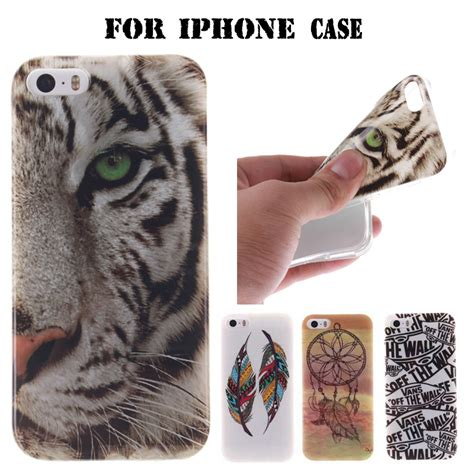 Iphone 5 5s Se 5c Softcase Fashion 1 soft tpu for iphone cases fashion design ultra thin gel cover for apple iphone 4