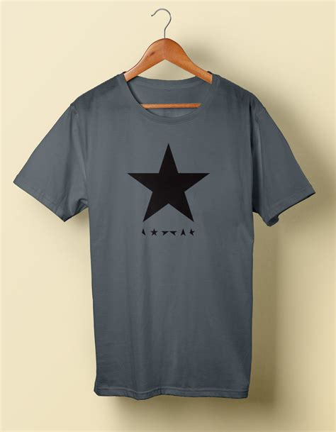 Blackstar T Shirt by David Bowie Blackstar Prints Tees