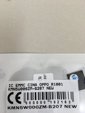 Emmc Hp Oppo Neo 3 ic emmc oppo r1001 kmn5w000zm b207 spare part hp