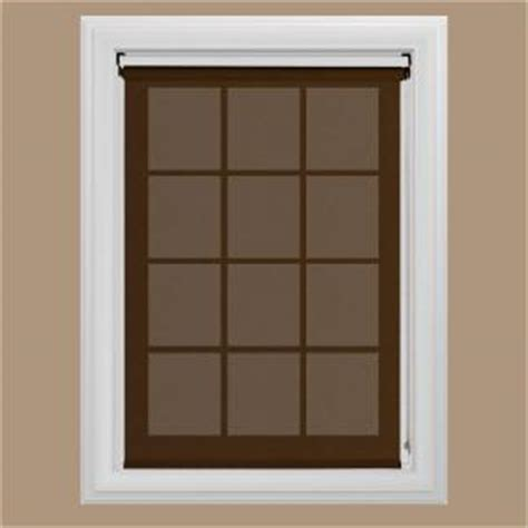bali cut to size chocolate uv blocking solar roller shade
