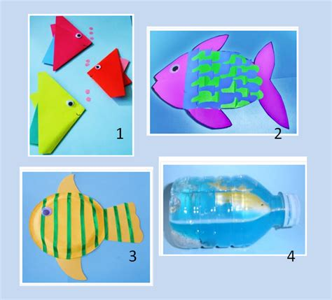 arts and crafts projects for toddlers learning ideas grades k 8 fish craft activities for