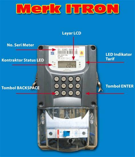 Meter Listrik Pulsa Cara Memasukan Kode Token Listrik Prabayar Pln Ke Meter