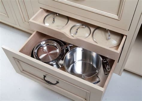 Kitchen Storage Cabinets For Pots And Pans by Pots Pans Lids Storage Organization Options For