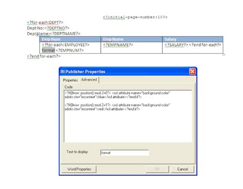 format file xsl oracle apps adf soa format rows color alternatively
