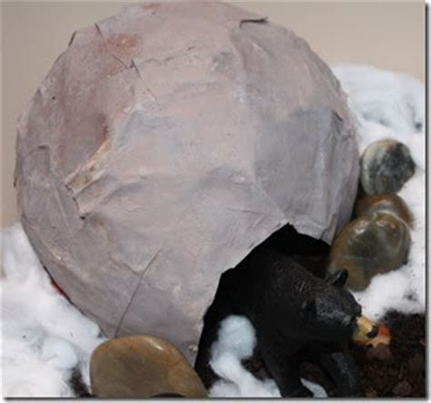 How To Make A Paper Mache Cave - along the way paper mache cave