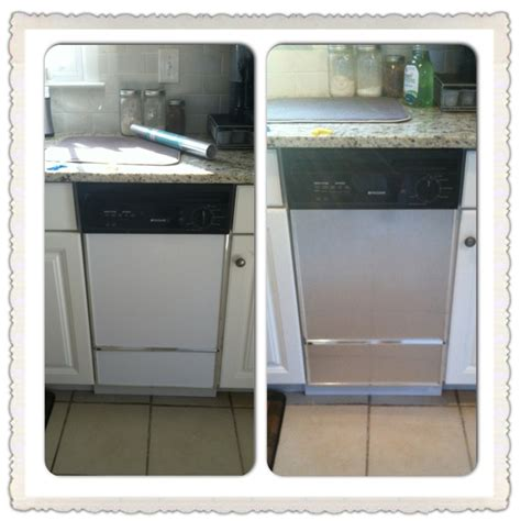 painting kitchen appliances diy project transform old appliances to look like new