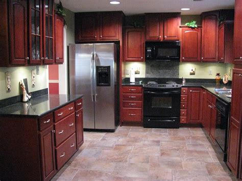 kitchen colors with cherry cabinets paint colors with cherry wood cool cabinet rustic kitchen