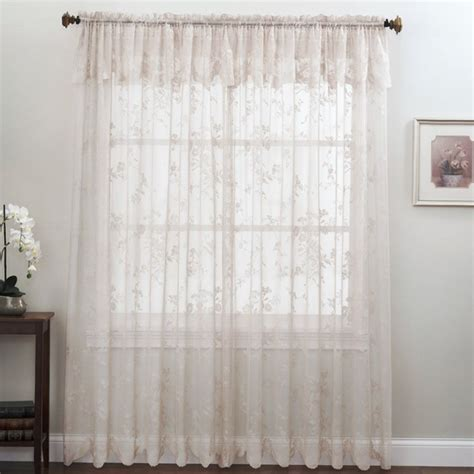 Curtains 63 Inch 63 Inch Curtains With Attached Valance Home Design Ideas