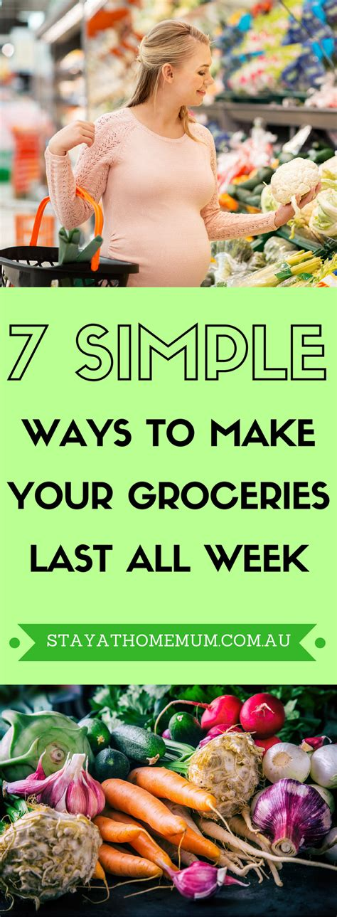 7 Ways To Make Your by 7 Simple Ways To Make Your Groceries Last All Week