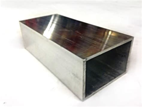 aluminium rectangular section 50 mm x 76 mm aluminium square tube 2 quot x 3 quot box rectangle